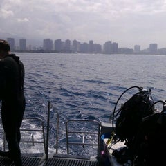 Photo taken at Wreck Of The Sea Tiger by Julie W. on 4/13/2012