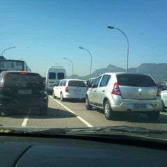 Photo taken at Avenida Rodrigues Alves by Ana Lucia M. on 2/29/2012