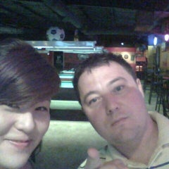Photo taken at Lucky 7's Sports Bar by Amy O. on 4/14/2012