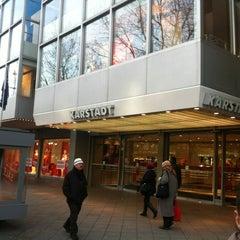 Photo taken at Karstadt by Sebastian M. on 1/18/2012