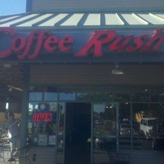Photo taken at Coffee Rush by james W. on 3/31/2011