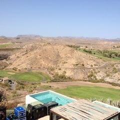 Photo taken at Sheraton Salobre Golf Resort & Spa by Marek on 3/21/2012