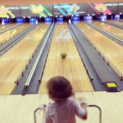 Photo taken at AMF Kegler's Lanes by Todd W. on 9/2/2012
