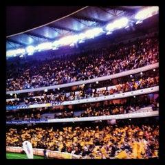 Photo taken at Melbourne Cricket Ground (MCG) by TomaSmash on 8/3/2012