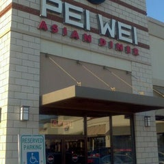 Photo taken at Pei Wei by Michael H. on 12/17/2011