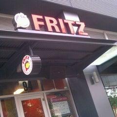 Photo taken at Fritz European Fry House by Ryan G. on 8/13/2011
