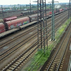 Photo taken at Bahnhof Dresden-Friedrichstadt by Tigra S. on 6/26/2011