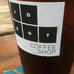 Photo taken at Jobot Coffee by Jenna C. on 8/15/2012