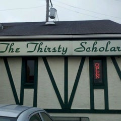 Photo taken at The Thirsty Scholar by Randy B. on 4/21/2012