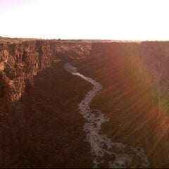 Photo taken at Malad Gorge State Park by Jason F. on 7/24/2011