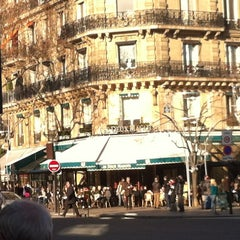 Photo taken at Les Deux Magots by Renaud F. on 1/14/2012
