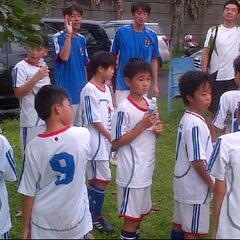 Photo taken at Jakarta Japanese School by Tatsuya I. on 1/7/2012