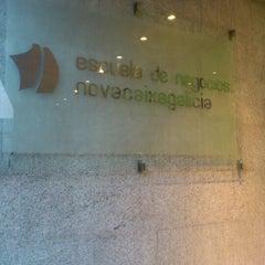 Photo taken at Escuela de Negocios NovaGalicia Banco by Bluecat G. on 1/30/2012