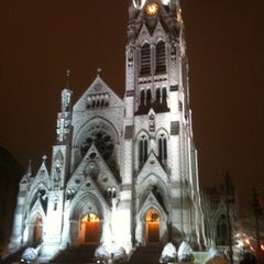 Photo taken at Saint Francis Xavier College Church by Michelle T. on 12/25/2010