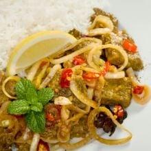 Photo taken at Burmese Gourmet by AskMen on 10/26/2011