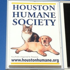 Photo taken at Houston Humane Society by Tony The Tiger on 9/28/2011