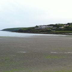 Photo taken at Inchydoney Beach by Carol C. on 7/11/2011