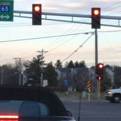 Photo taken at 109th/65 light by Mike P. on 11/14/2011