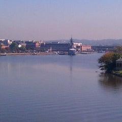 Photo taken at Frederick Douglass Memorial Bridge by Kevin on 11/2/2011