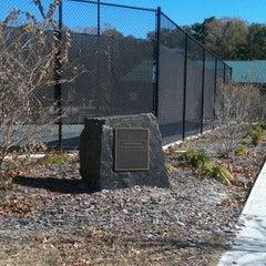 Photo taken at Jonesville Tennis Center by Diego A. on 1/16/2012