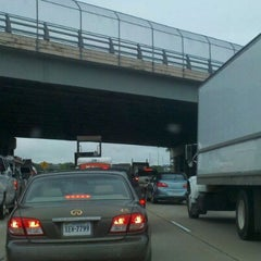 Photo taken at I-64 Exit 255: Jefferson Ave by Traci F. on 4/19/2012