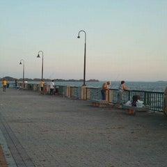 Photo taken at Canarsie Pier by Randy T. on 9/13/2011