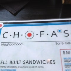 Photo taken at Chofas Sports Bar & Grill by Deshaun J. on 5/1/2012