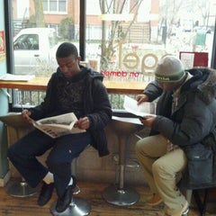 Photo taken at Bagel on Damen by Gregory C. on 1/31/2012