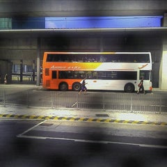 Photo taken at Airport Bus Terminus (Ground Transportation Centre)  機場巴士總站 (地面運輸中心) by Maxim S. on 8/19/2011