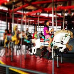 Photo taken at Greenport Antique Carousel by Frank B. on 7/31/2012