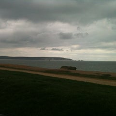 Photo taken at Hordle Cliff West by James C. on 4/19/2012