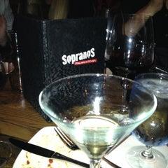 Photo taken at Sopranos Italian Kitchen by Evis H. on 3/31/2012