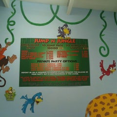 Photo taken at Jump'n Jungle by Alex F. on 6/3/2011