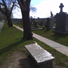 Photo taken at Cavalry cementary by James B. on 4/2/2011