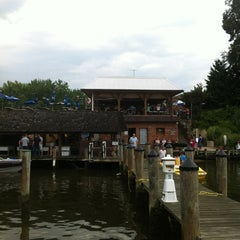 Photo taken at Jimmy Cantler's Riverside Inn by Kate B. on 7/29/2012