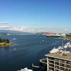 Photo taken at The Westin Bayshore, Vancouver by Ken S. on 8/7/2011