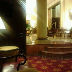 Photo taken at Plaza Hotel Buenos Aires by Andressa M. on 7/13/2012
