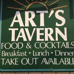 Photo taken at Art's Tavern by Tim on 7/14/2012