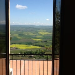 Photo taken at Dei Capitani Hotel Montalcino by Rafael D. on 5/2/2012