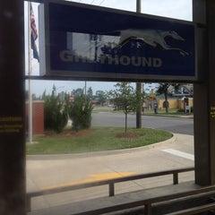 Photo taken at Greyhound Bus Station (Fredericksburg VA) by Thanade S. on 6/1/2012