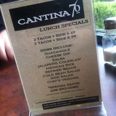 Photo taken at Cantina 76 by Lauren F. on 4/26/2012