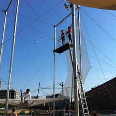 Photo taken at Trapeze School New York (TSNY) - Washington DC by Kristen D. on 6/10/2012