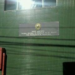 Photo taken at Tribunal Regional do Trabalho da 10ª Região (TRT 10) by Lucas V. on 2/28/2012
