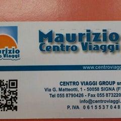 Photo taken at Maurizio Centro Viaggi by Virgilio A. on 3/15/2012
