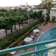 Photo taken at โรงแรมสุรินทร์ มาเจสติก (Surin Majestic Hotel) by Eddie W. on 7/10/2012