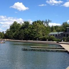 Photo taken at Hoyt Lake by Terri E. on 8/18/2012