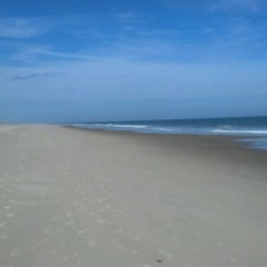 Photo taken at 145th St Beach by Louis S. on 2/22/2012