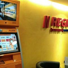 Photo taken at RegioJet by Stefan S. on 3/16/2012