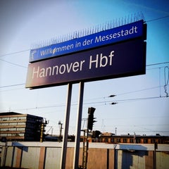 Photo taken at Hannover Hauptbahnhof by Sebastian W. on 3/20/2012