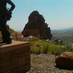 Photo taken at Red Rocks Interactive Hall Of Fame by Robert R. on 8/25/2012